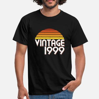 Since 20th Birthday 20 Years Vintage Since 1999 Gift - Men's T-Shirt