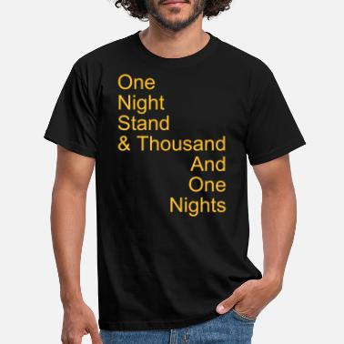 Myte one night stand - T-skjorte for menn
