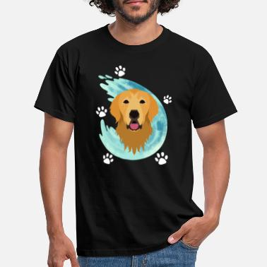 Golden Retriever - Hond - Poten - Schattig - Cool - Mannen T-shirt