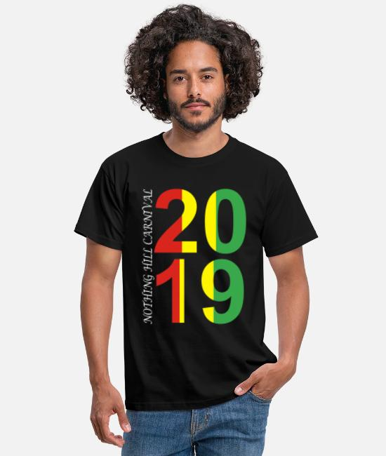 Carnival T-Shirts - NOTHING HILL CARNIVAL 01 - Men's T-Shirt black