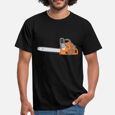 Chain Chainsaw Engine Saws Wood Forest Agricultural - Men's T-Shirt