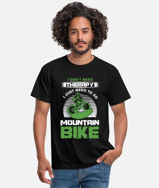 Mountainbike T-shirts - MTB MTB - T-shirt mænd sort