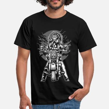 Chief Indian Chief Motorcycle - Men's T-Shirt