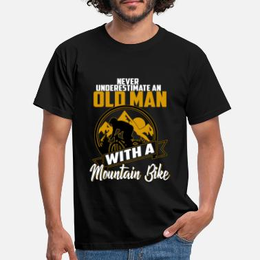 Mountainbiken mountainbike - Mannen T-shirt