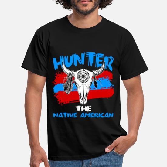 Indianer Herre T Shirt