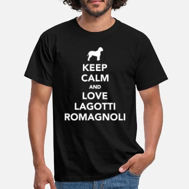 Keep Calm Lagotto Romagnolo - Männer T-Shirt
