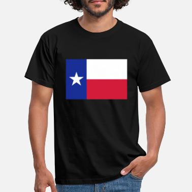 Lone Star Lone Star Texas Flag - Men's T-Shirt