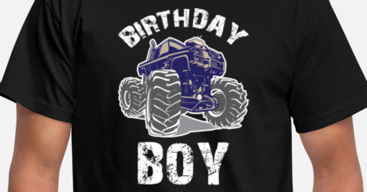 d9436104e Monster Truck Birthday Boy