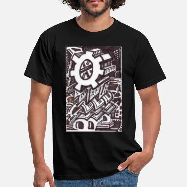 Solitary The Solitary Cog - Men's T-Shirt