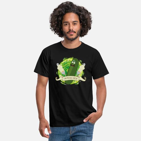 And T-skjorter - Rick And Morty I'm Pickle Rick Funny Quote - T-skjorte for menn svart