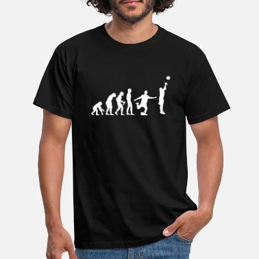 Basketball Basketball Evolution Fussball - Männer T-Shirt