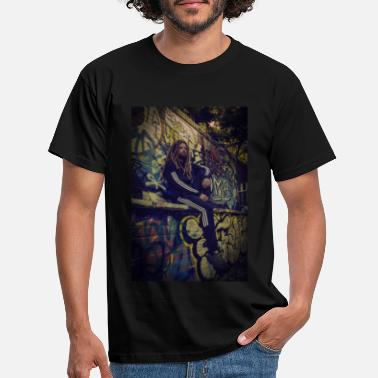 Chakras Graffiti - Men's T-Shirt