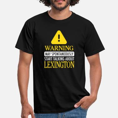 Lexington ¡ADVERTENCIA! : Lexington - Camiseta hombre