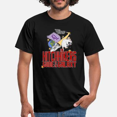 Guide hitchhickers guide to the galaxy - Men's T-Shirt