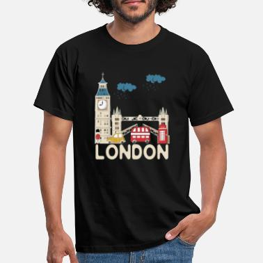 London London Souvenir T Shirt - Men's T-Shirt
