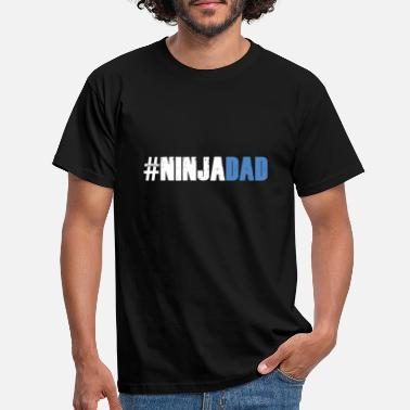 Warrior Ninja Warrior - Ninja Dad - Männer T-Shirt