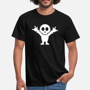 Metal Fork Heavy Metal Fan with rocking Fingers Fork - Männer T-Shirt