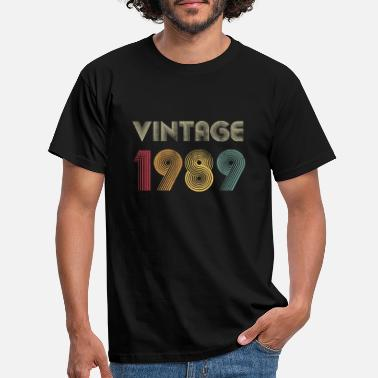 Vintage 1989 - 30th Birthday Gift - Men's T-Shirt