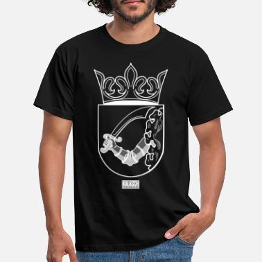 Armoiries Bosna Armoiries Ottomanes Blanches - T-shirt Homme