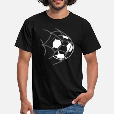 Shot On Goal soccer goal shot - Men's T-Shirt