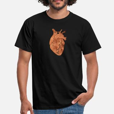 Copper copper heart - Men's T-Shirt