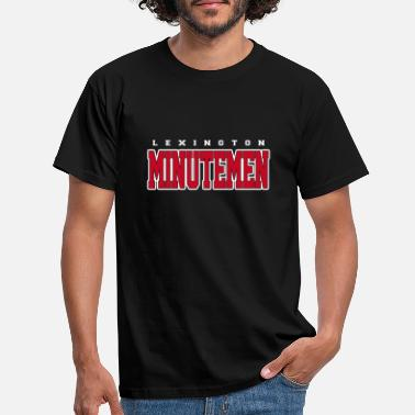 Lexington Lexington Minutemen T-Shirt - Männer T-Shirt