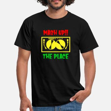 MASH UP THE PLACE - Männer T-Shirt