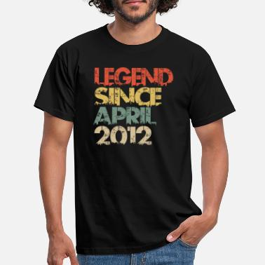 April Legend Since April 2012 - Männer T-Shirt