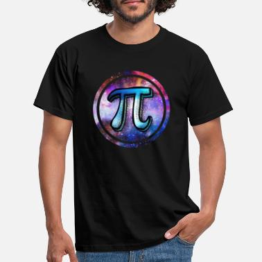 Pi Day Pi Day Galaxy - Mannen T-shirt