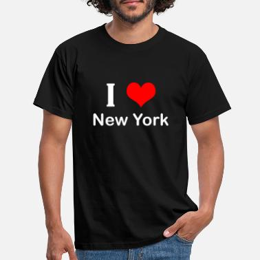 I Love New York I love New York - Männer T-Shirt
