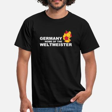 Master germany home of the weltmeister 2 - Men's T-Shirt