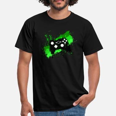 Gaming Box Graffiti Gamer - Men's T-Shirt