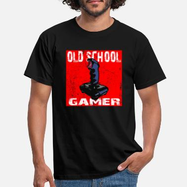 Old School Gamer - Men's T-Shirt
