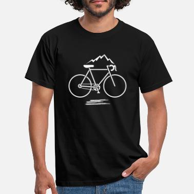 Bike Mountain sport Cykling Mountain bike gave ide - T-shirt mænd