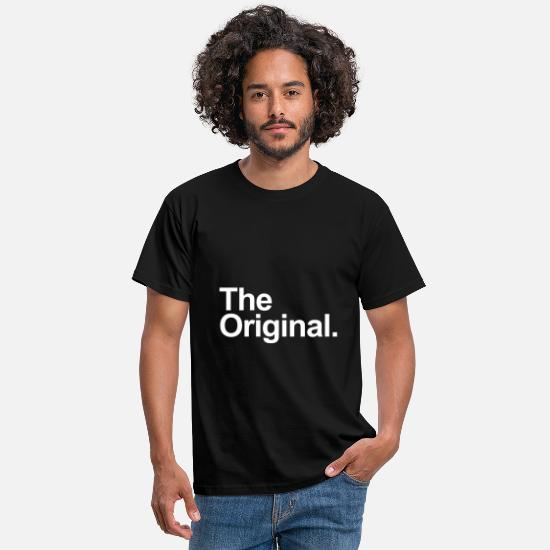 Original T-shirts - The original. - T-shirt Homme noir