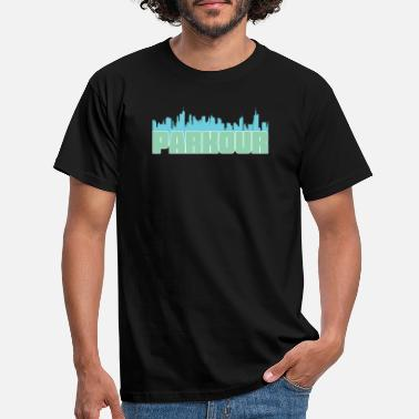 Urban Skyline Parkour Design - Parkour Urban Skyline - Men's T-Shirt
