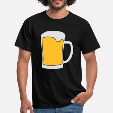 alcohol beer drunk party - Men's T-Shirt