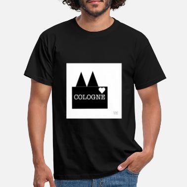 Dominica Cologne Cologne Cathedral my city - Men's T-Shirt
