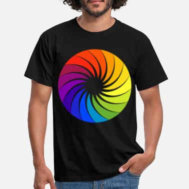 Wheel Color palette artist color wheel - Men's T-Shirt