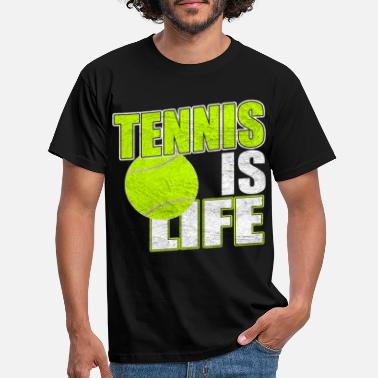 Tennis Is Life Tennis is life - Männer T-Shirt