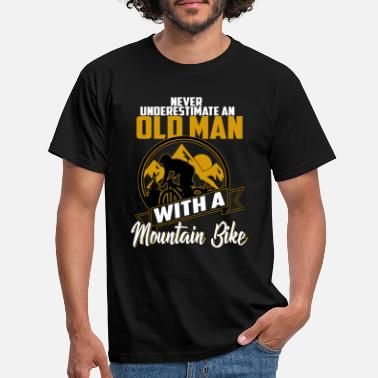 Bike Cykling Mountain Bike Mountain Biker Bike - T-shirt mænd