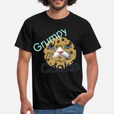 And A Grumpy Grumpy Cookie - Men's T-Shirt