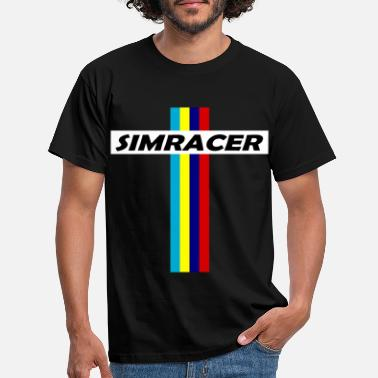 Cockpit SIMRACER Simracing Virtual Racing - Männer T-Shirt