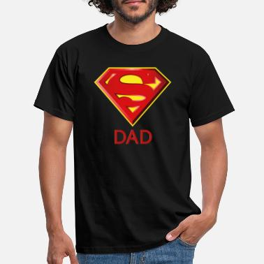 Superman Superman 'Super DAD' Men T-Shirt - T-shirt herr