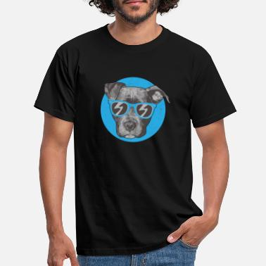 Female Dog Dog Master Puppy Mistress Shepherd Dog - Men's T-Shirt