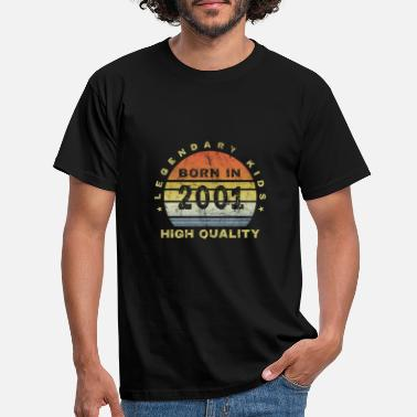 Legal Age Born in 2001 Millennium Children's Gift of a legal age - Men's T-Shirt