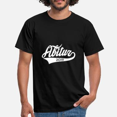 Collegestyle Abitur 2019 Classic Amerian Style - Männer T-Shirt