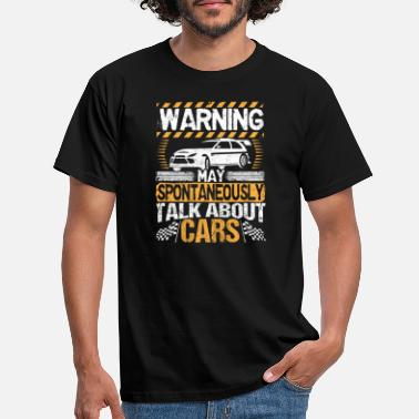 Cars Car Lovers Car Mechatronics Car Mechanic - Men's T-Shirt