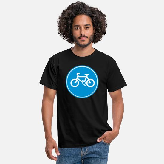 Bicycle T-Shirts - Bicycle - Men's T-Shirt black