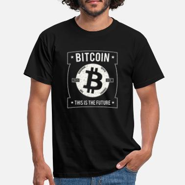Ripple Bitcoin Cracked BTC Crypto - Männer T-Shirt